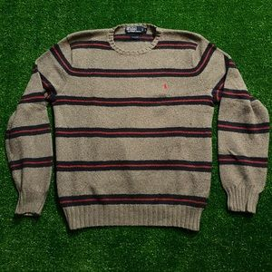 Vintage Polo Ralph Lauren Sweater Stripes